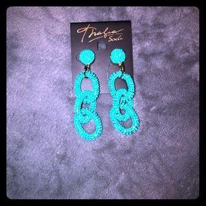 Thalia Sodi Jewelry - 1 hr sale🚨New! Thalia turquoise earrings